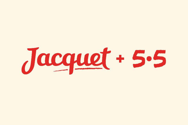 jacquet, packaging, design by 5.5